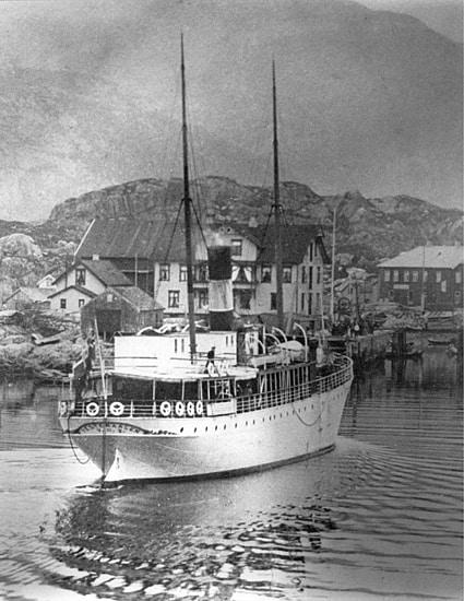 DS Vesteraalen 1893 © Hurtigrutemuseet