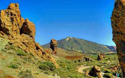 The dramatic beauty of a volcanic landscape