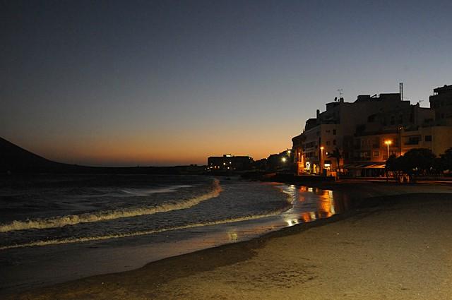 El Medano by night, Tenerife