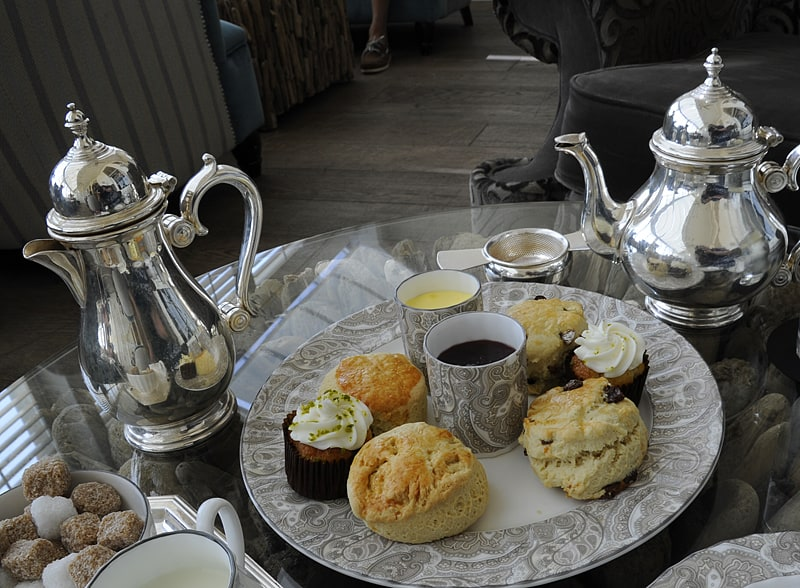 Afternoon tea at the Brighton Grand, one of many great things to do in Brighton