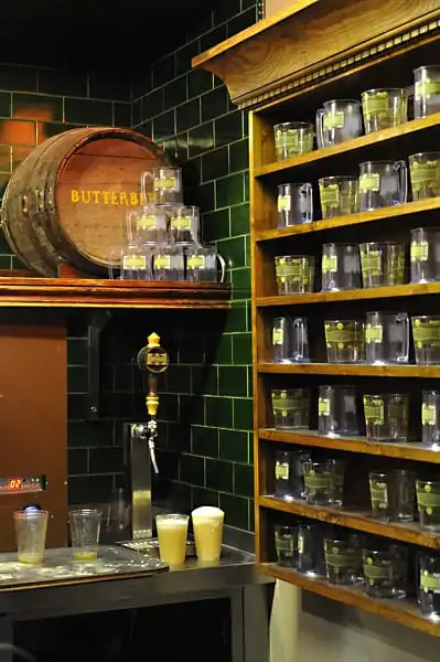bar selling butterbeer