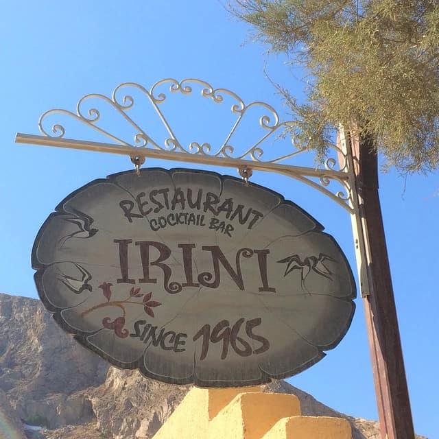 Irini restaurant, Things to do on Santorini