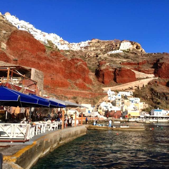 Oia port, Things to do on Santorini