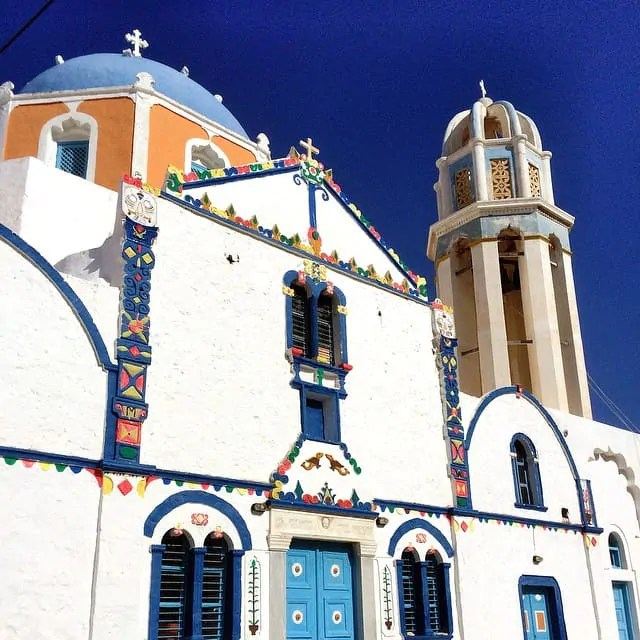 Agrilia church, Therisa