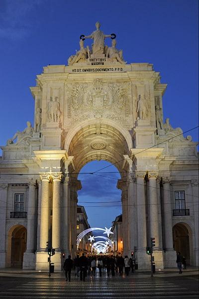 Arco da Rua Augusta, Lisbon