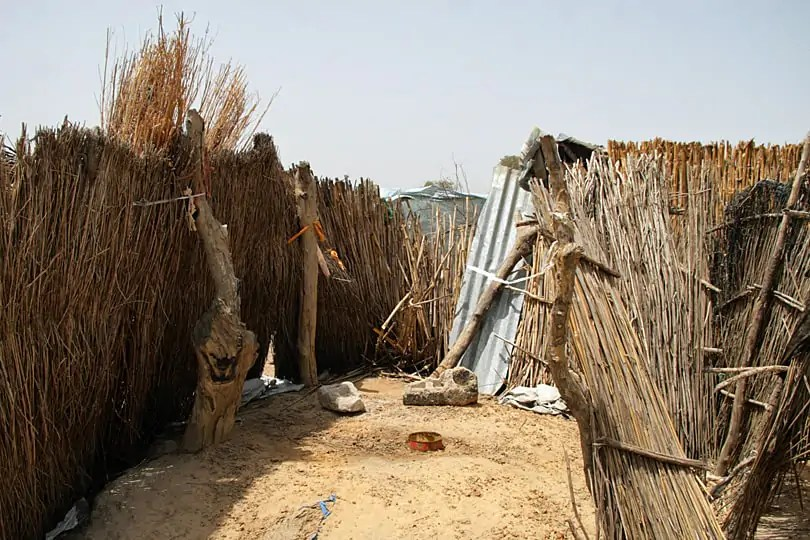 Pit latrine, toilet, Senegal, West Africa