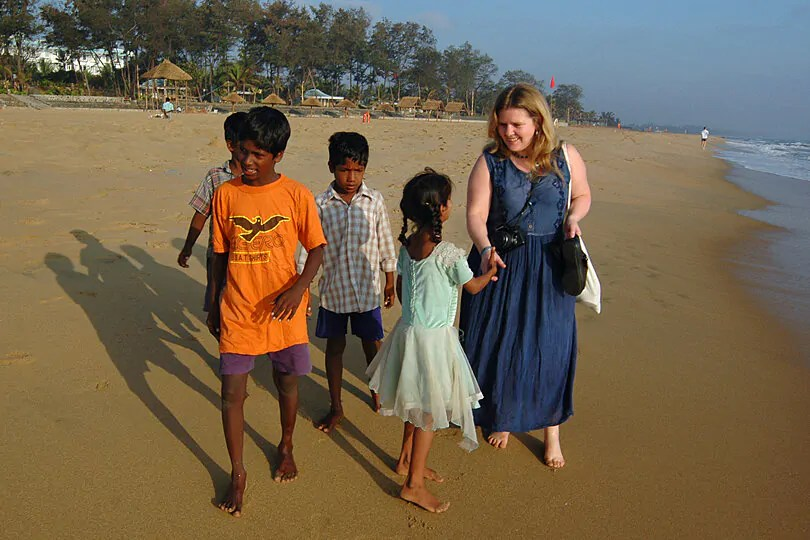 Tamil Nadu on the east coast of India