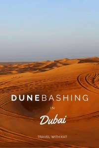 Dune Bashing in Dubai with 'Travel with Kat'