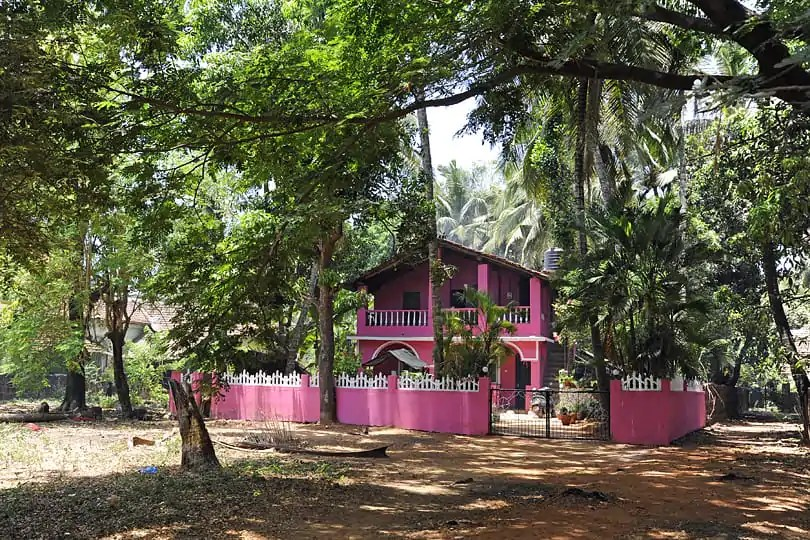 Cheerful house, Southern Goa, India