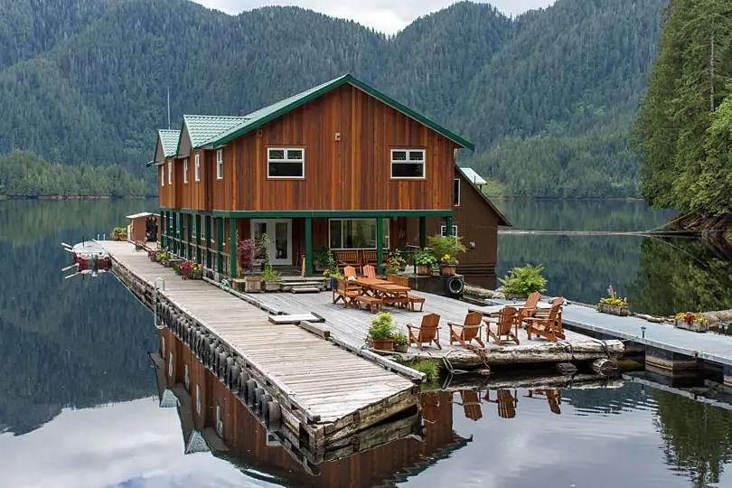 Great Bear Lodge, Great Bear Rainforest, British Columbia, Canada