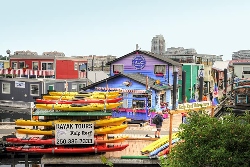Fishermans' Wharf, Victoria, British Columbia, Canada