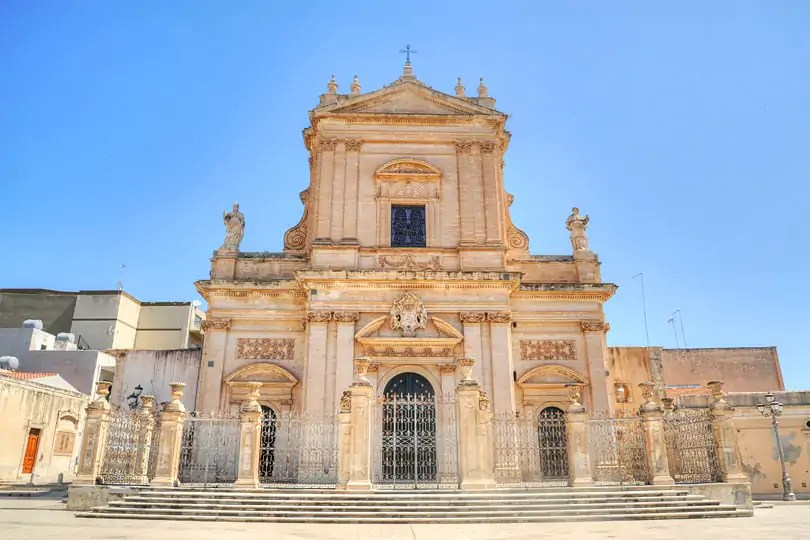 Ragusa in southern Sicily