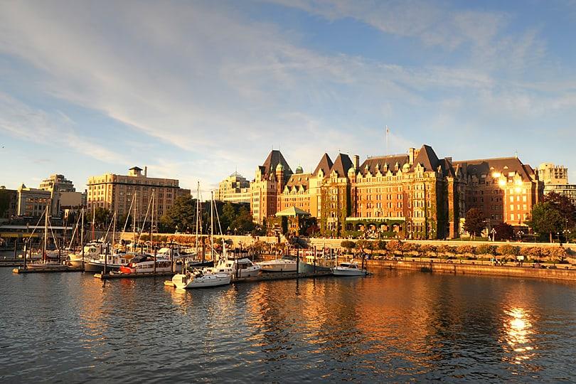 Victoria's Inner Harbour, British Columbia, Canada
