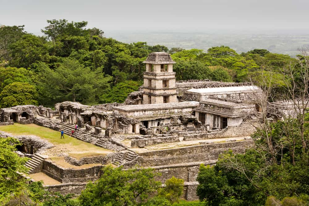 Getting off the beaten track in Mexico: Palenque ruins, Mexico