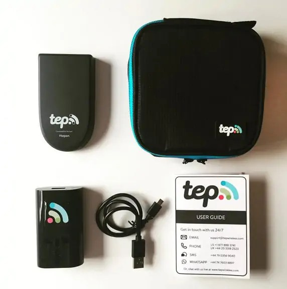 Tep Wireless, your personal portable WiFi hotspot