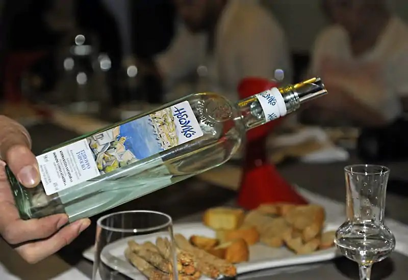 Tsipouro, a traditional spirit from Greece