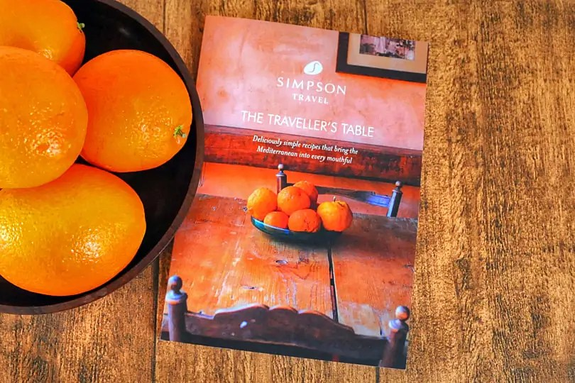 The Traveller's Table Cook book
