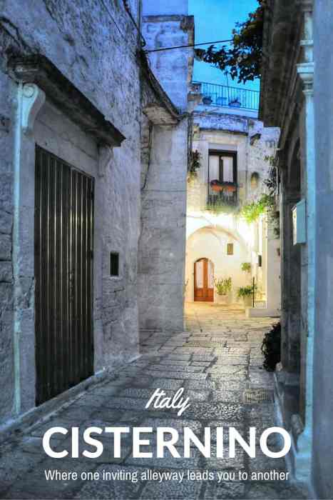 Exploring the alleyways of Cisternino, a magical, historic Italian town in the Valle D'Itria
