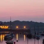 A room with a view at the harbourside Greenbank Hotel in Cornwall