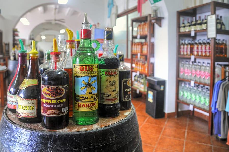 Gin Xoriguer, Menorca