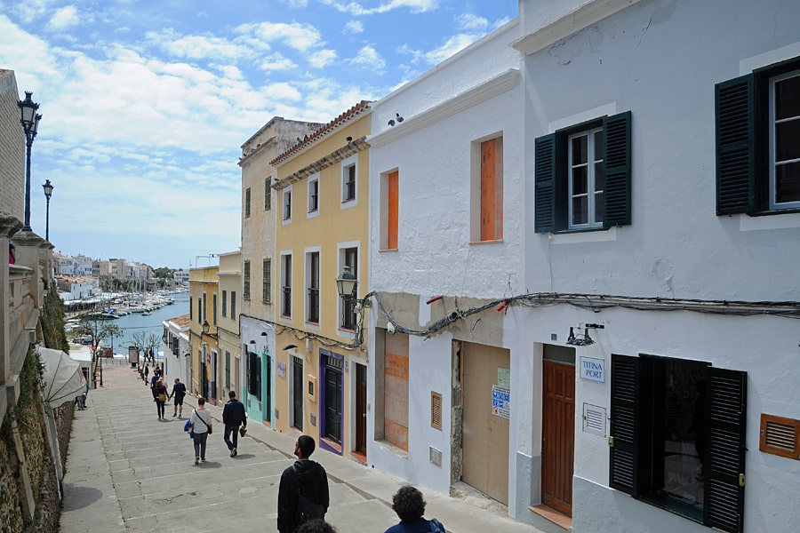 Ciutadella walking tour, Menorca, Spain