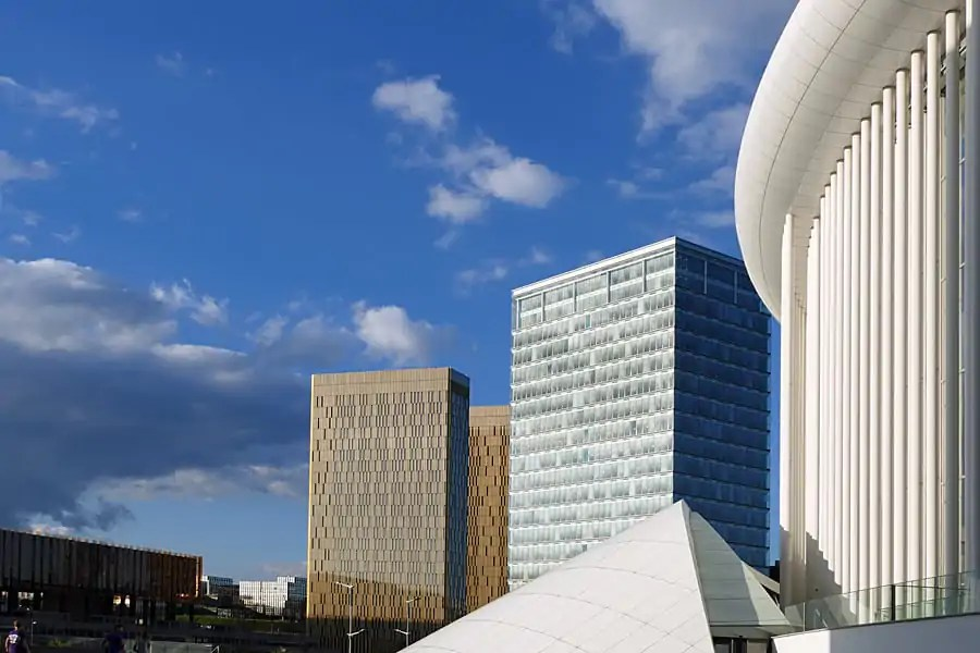 Luxembourg's striking modern architecture