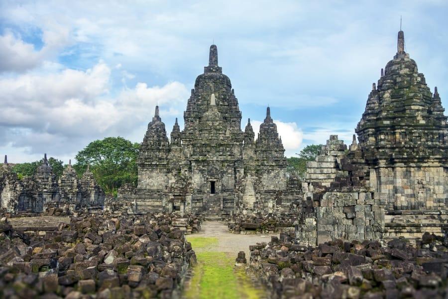 Prambanan Temples, near Yogyakarta, Java, Indonesia