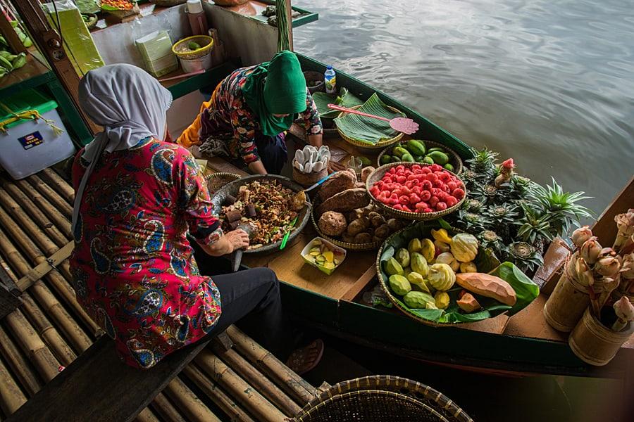 Floating Market Lembang, Bandung, Java, Indoenesia