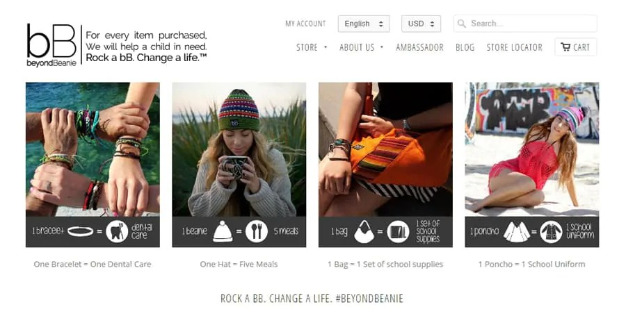 Beyond Beanie, ethical gifts that give back