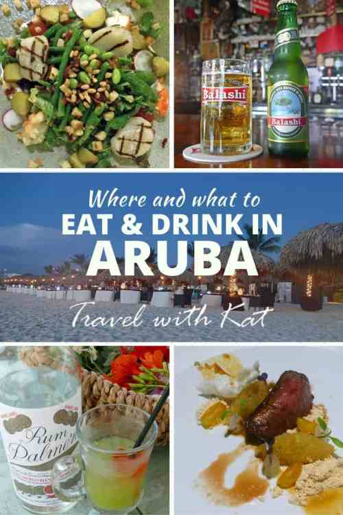 Where and what to eat and drink in Aruba