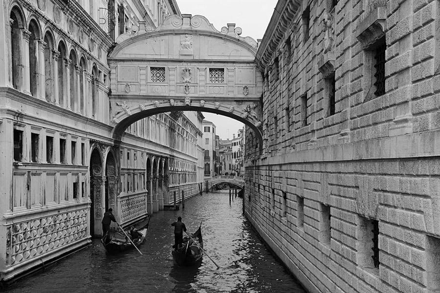 The Bridge of Sighs (Ponte dei Sospiri), Venice, Italy