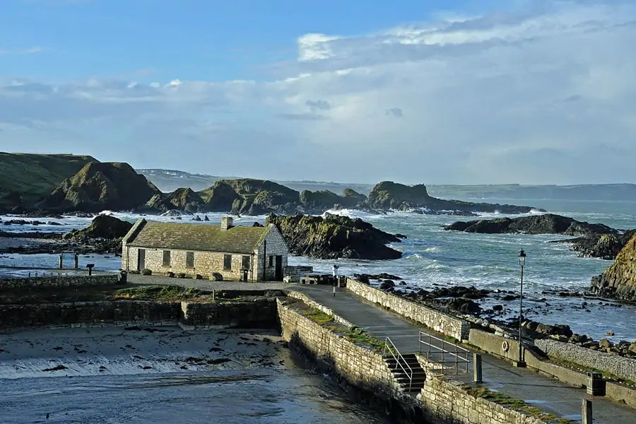 Ballintoy Harbour aka Lordports Harbour, Iron Islands in Game of Thrones