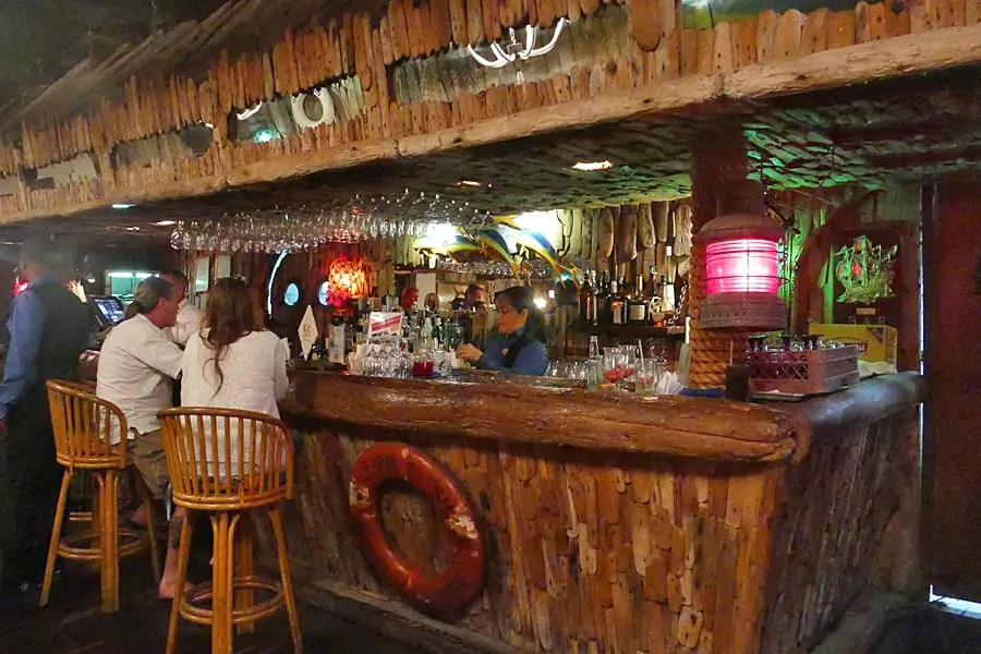 Driftwood, one of Aruba's most popular restaurants