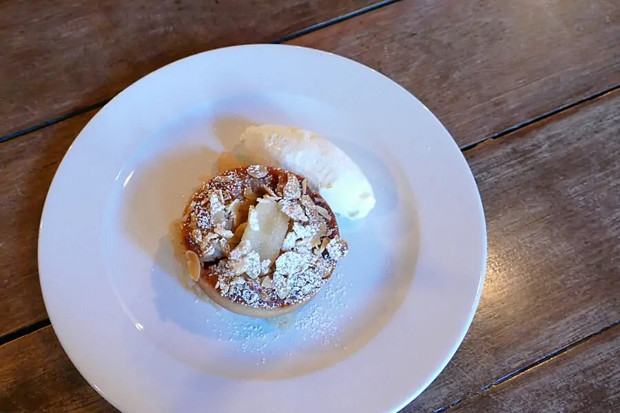Desserts at Coppi on the Belfast Food Tour