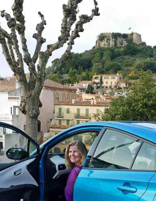 Prius Plug-in Hybrid in Begur, Catalonia
