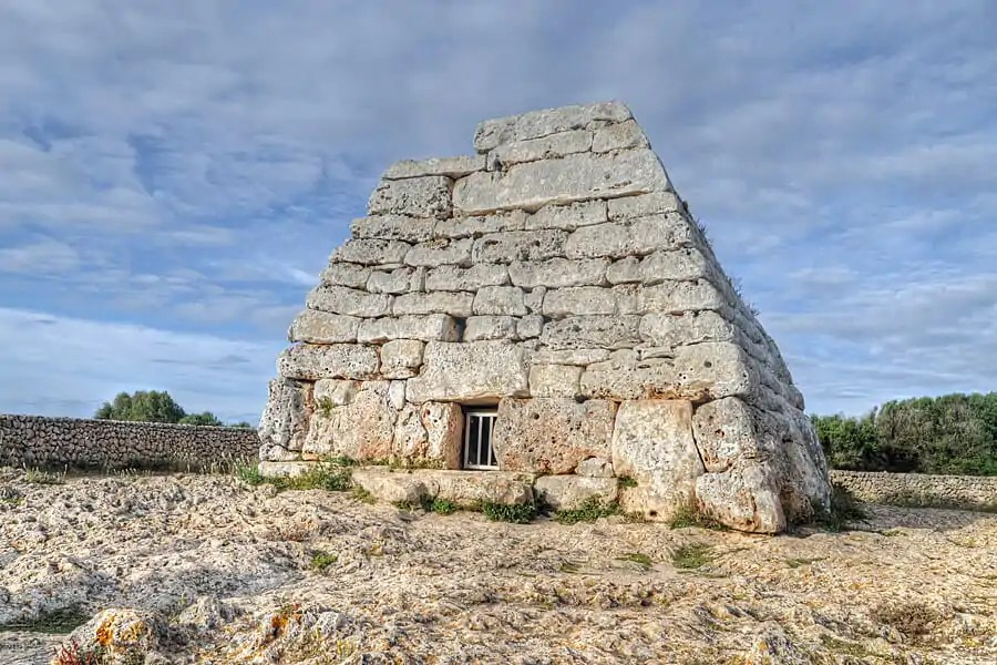 Naveta d'es Tudons, a Talayotic burial chamber dating back to around 1000 BC, Menorca, Spain - one of my top 10 things to do in Menorca