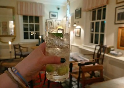 Hendrick's Cucumber and Black Pepper Gin Cocktail