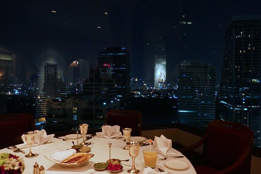 Rang Mahal Indian restaurant at the The Rembrandt Hotel, Bangkok, Thailand