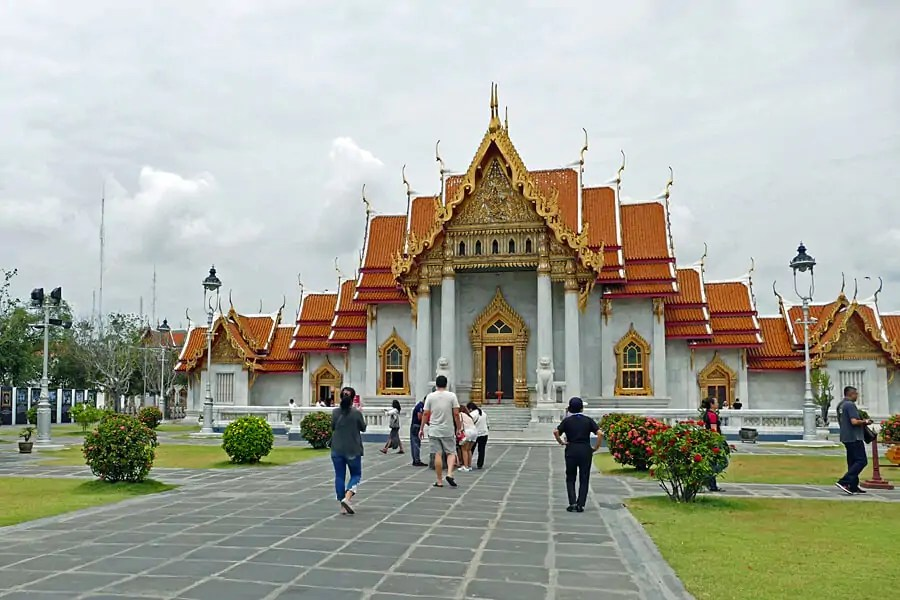 The Marble Temple, Wat Benchamabophit, Bangkok, Thailand