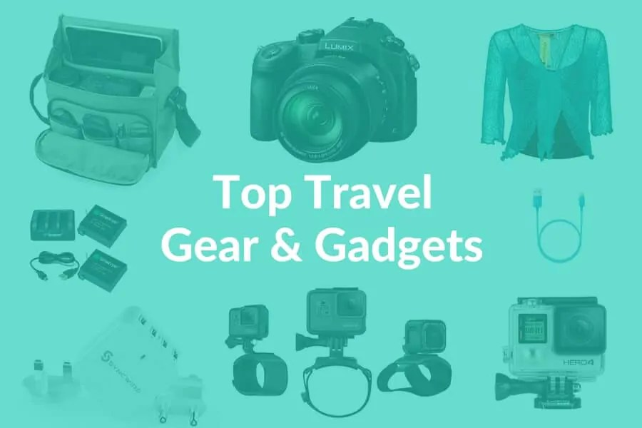 Travel Gear, Gadgets and Gizmos