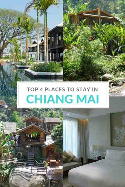 From rural homestays to the ultimate in luxury: 4 great places to stay in the province of Chiang Mai