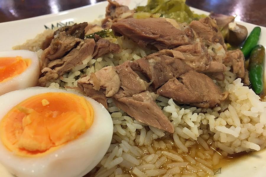 Khao Kha Muu- best Chiang Mai street food