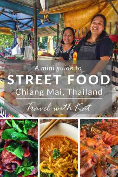 A mini guide to the best street street food in Chiang Mai.