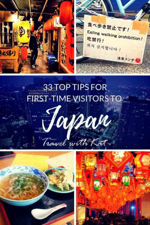 33 top tips for first-time visitors to Japan
