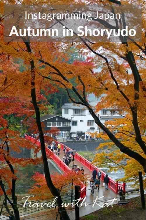 Instagramming Japan - Autumn in Shoryudo