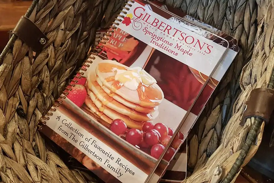 Gilbertson's maple syrup