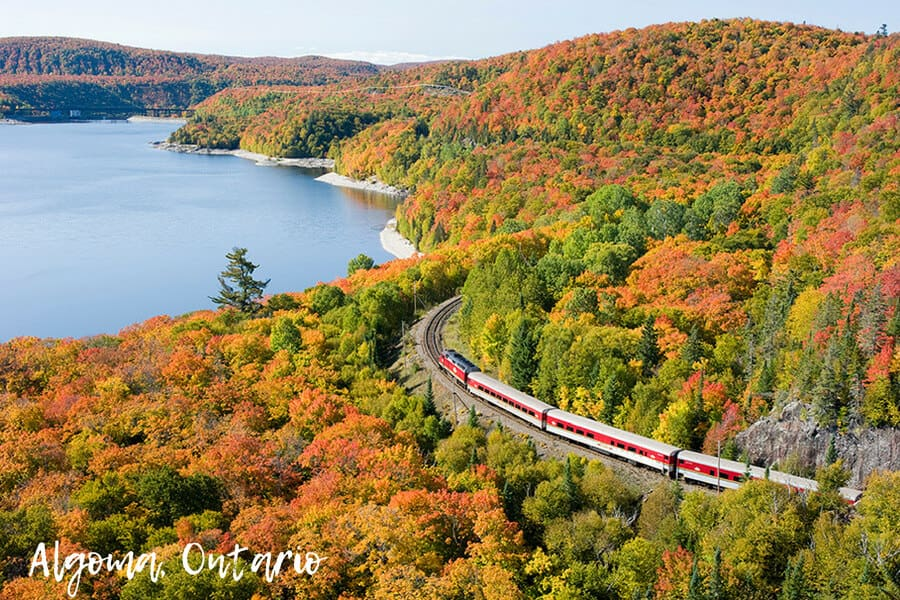 Autumn in Algoma, Ontario
