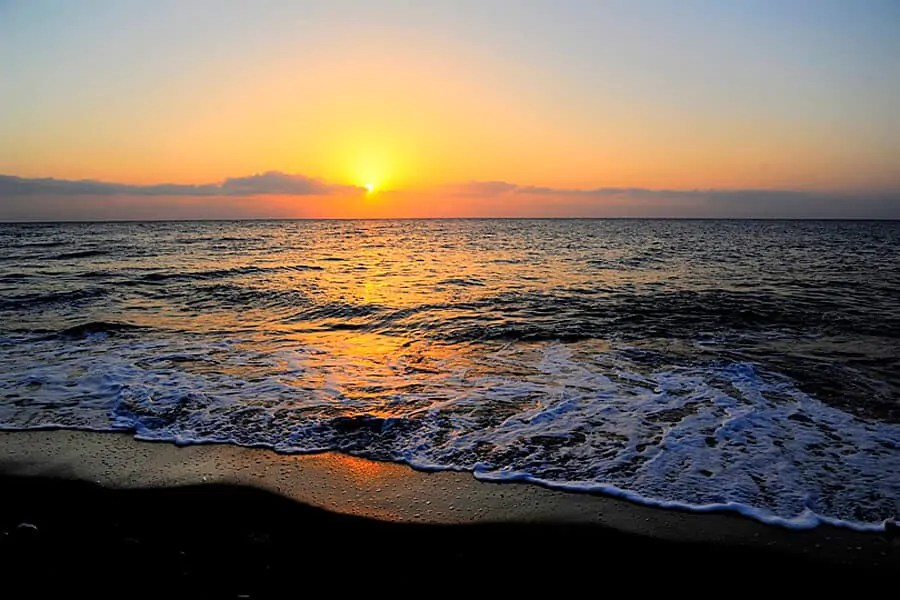 Sunrise on Santorini