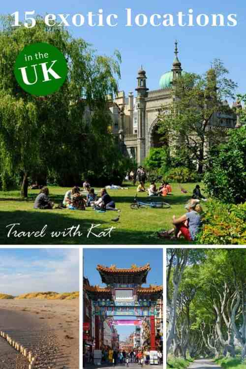 Keep discovering – 15 exotic places to visit in the #UK
