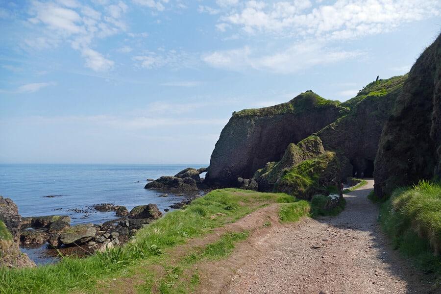 Cushendun Caves, Co. Antrim | Cove in the Stormlands| Game of Thrones tour Ireland